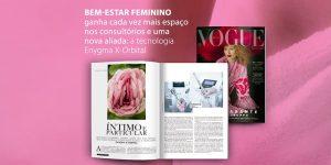 Matéria sobre a Enygma X-Orbital na Revista Vogue