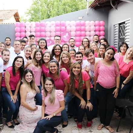 Equipe Body Health Brasil no evento Outubro Rosa